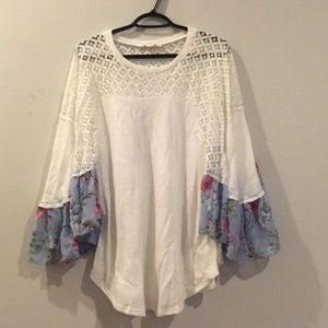 Tops - Woven Thermal Floral